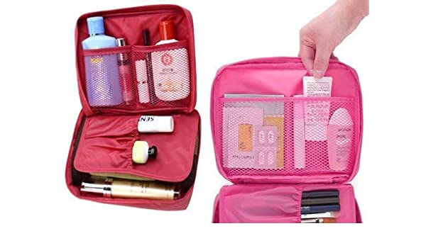 4e30aac5b1 Uniquedealz Portable Waterproof Multi Pouch Travel Toiletry Cosmetic Makeup  Case Toiletry Case Wash Organizer Storage Pouch Toiletry Bag Travel  Organizer ...