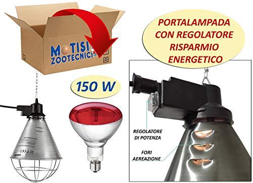 Lampade a infrarossi per riscaldamento classifica for Lampada infrarossi riscaldamento pulcini