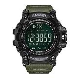 Herren Militaer Uhren XL Grüne Smart Watches Digitale Armbanduhr Sport Smart Watch