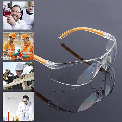 cuigu Schutzbrille Arbeit Brille UV-Sicherheit Arbeits-Brille Labor de Glasse D 'Oeil