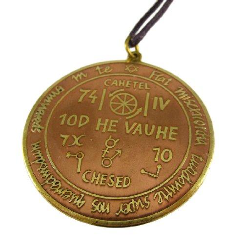 Key of Solomon Talisman für Erfolg AT WORK Anhänger