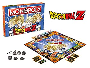 Winning Moves 2565 DRAGON BALL Z Monopoly Juego de mesa Ingles