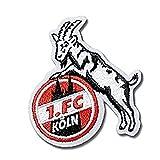 "AUFNÄHER AUFBÜGLER ""Geißbock"" 1. FC KÖLN"