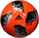 adidas Herren Bola Glider FIFA World Cup Ball Solar Red/Black/Silver Metallic, 5