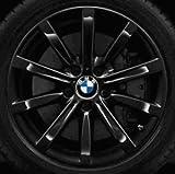 Original BMW Alufelge 5er F10-F11-LCI Sternspeiche 365 schwarz in 18 Zoll