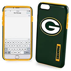 Forever Collectibles - Licensed NFL Cell Phone Case for Apple iPhone 6/6s Plus - Retail Packaging - Green Bay Packers