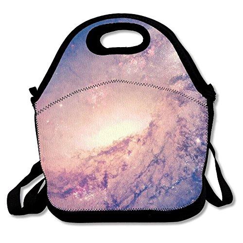 Cielo stellato lunch bag tote soft lunch box riutilizzabile isolato borsetta per donne, ragazze, bambini