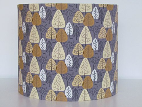 handmade-taupe-and-gold-scandinavian-tree-cotton-fabric-drum-lampshade-lightshade