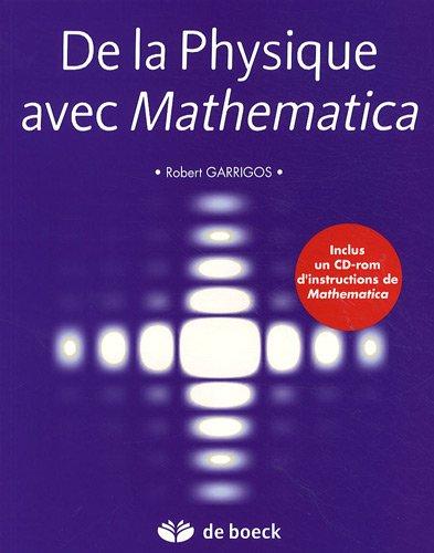 De la Physique avec Mathematica + CD