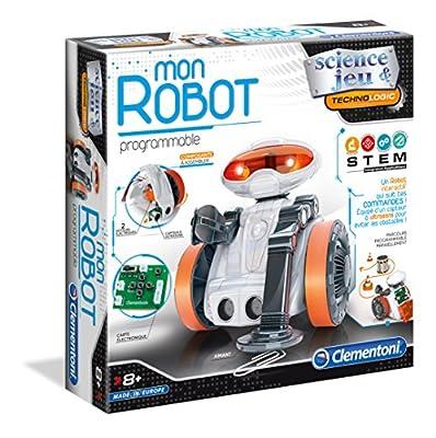 Clementoni-Clementoni-52276-Science & Jeu-Mon Robot avec capteurs- 52276