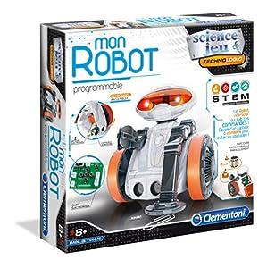 Clementoni 52276 Robot de Entretenimiento - Robots de Entretenimiento (Robot programable, Niño, 8 año(s), 300 mm, 77 mm, 300 mm)