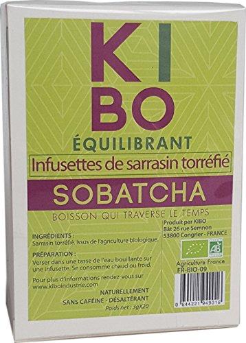 KIBO Infusettes de sarrasin torréfié 20 sachets
