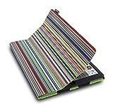 """Lente Designs® Apple iPad Pro 12"""" folio cover case in our stylish"""