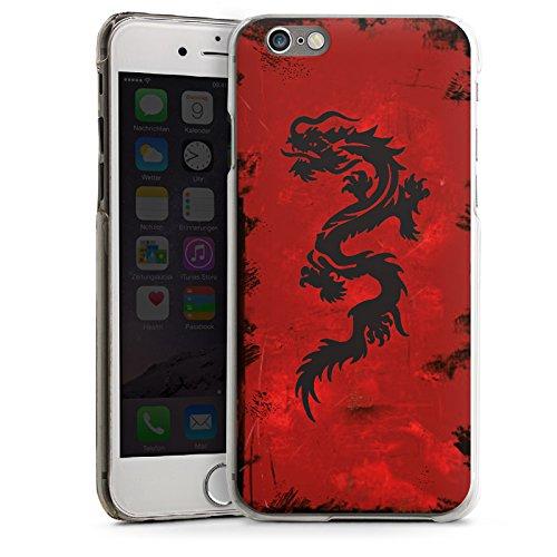 Apple iPhone 5 Housse Outdoor Étui militaire Coque Dragon Tribal Tatouage CasDur transparent
