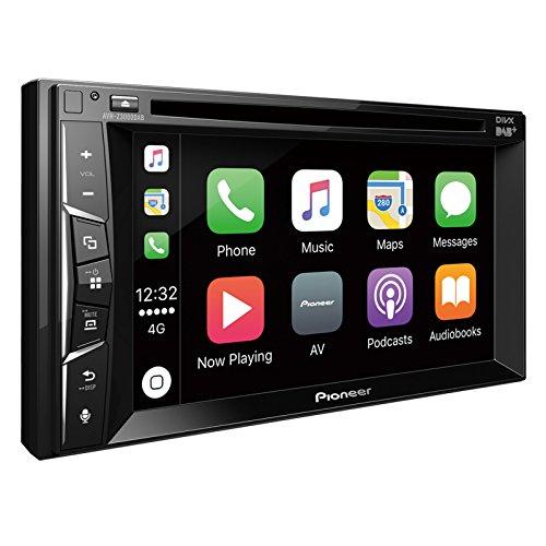 Pioneer AVH-Z3000DAB 2DIN Autoradio | 6,2 Zoll Clear-Resistive-Touchpanel | Bluetooth | Digitalradio DAB+ | Apple CarPlay | Waze | Navigation | AppRadio | Freisprecheinrichtung | Media-Receiver für Audio Video CD DVD USB (Waze Autoradio)