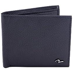 Spykar Mens Leather Black Wallets