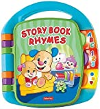 Fisher-Price CDH26 Laugh And Learn Story, Rhymes, Giocattolo educativo per Bambini, Baby Book elettronico con Parole, Lettere e Numeri, Adatto per 6 Mesi +
