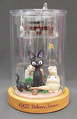 Studio Ghibli Puppet Music Box Kiki's Delivery Service Jiji