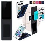 Obi Worldphone MV1 Hülle in blau - innovative 4 in 1