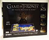 HBO Game of Thrones 4D Puzzle Westeros & Essos 891 Pieces