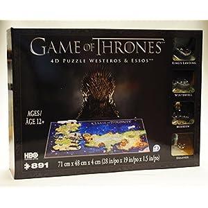 4DCityscape Juego de tronos temporada 4D - Puzzle de westeros y essos 8