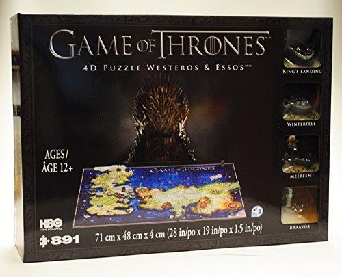 4D Cityscape Game Of Thrones 4D Puzzle Von Westeros & Essos