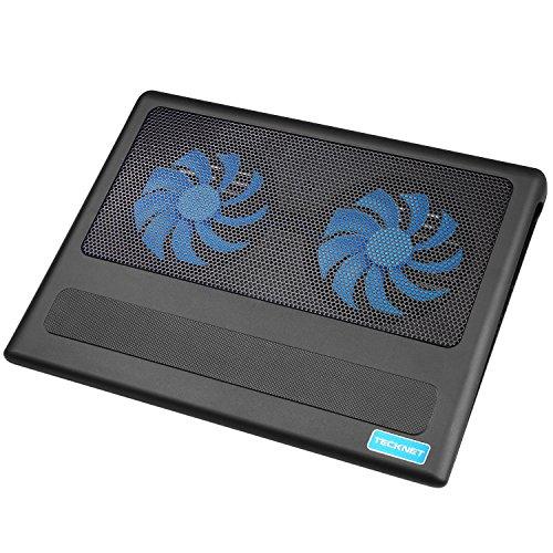 Base de refrigeración TeckNet Enfriador portátil con2 ventiladores ( Desde 9