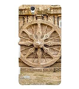 Wheel Of Konark 3D Hard Polycarbonate Designer Back Case Cover for Sony Xperia C4 Dual E5333 E5343 E5363 :: Sony Xperia C4 E5303 E5306 E5353