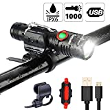 Best Flashlight 1000 Lumens - IPX6 Waterproof LED Bike Light, 1000 Lumen Super Review
