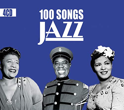 100 Songs Jazz, Swing, New Orleans, Classics Jazz Songs & Standards [4CD]
