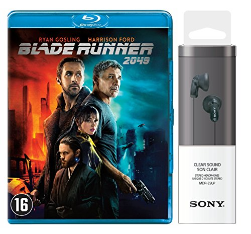 Preisvergleich Produktbild Blade Runner 2049 + Sony Headphone MDR-E9LP Black - In-Ohr-Kopfhörer schwarz (Limited Special Edition) [Blu-ray]