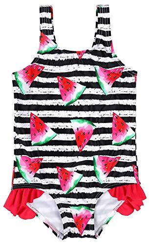 Kind Wassermelone Kostüm - Anwell Badebekleidung für kleines Kind ärmellos Kostüme Wassermelone 18-24 Monate,(Herstellergröße 12-18M)