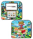Animal Crossing Special Edition New Leaf City Folk Wild World Villager Video Game Vinyl Decal Skin Sticker Cover for Nintendo 2DS System Console by Vinyl Skin Designs