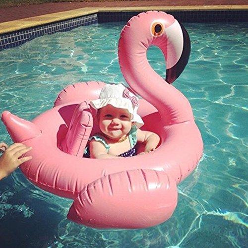 Asenart ® bebé inflado nadar barco flotador anillo Floatie montar en Rideable...