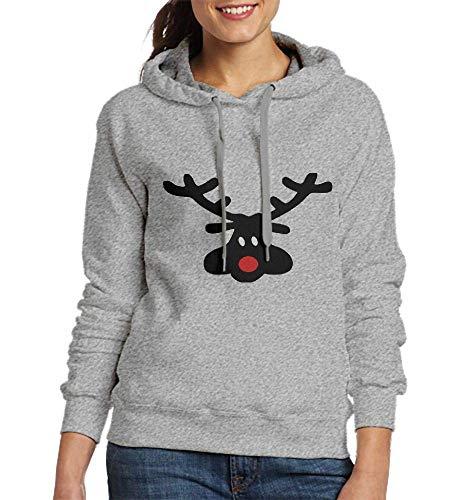 Sweatshirt Women Funny Reindeer3 Axvec3 Customized Hoodies