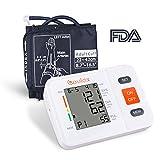 Oberarm Blutdruckmessgerät Vollautomatische Blutdruck und Pulsmessung mit LED großem Display 2 *...