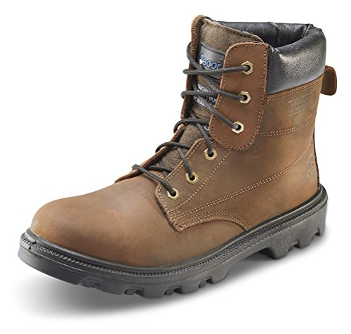 Sherpa 15,2cm Bottes de sécurité–B-click Chaussures Marron