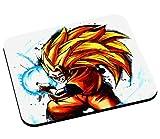 Mauspad sangoku Super Saiyan 3 Goku Kameha Mode Dragon Ball Z manga dbz