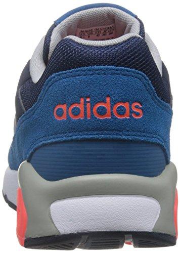 adidas Run9Tis, Chaussures de Sport Homme Bleu - Azul (Maruni / Plamat / Rojsol)