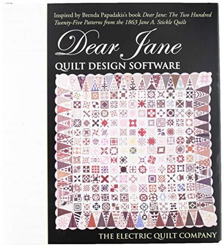 Electric Quilt EQ-505 Design-Software, Schwarz
