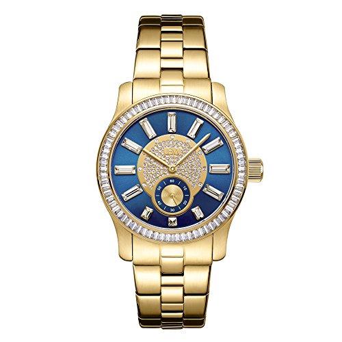 JBW Mujeres de Celine 0,09CTW Diamond 18K Chapado en Oro Acero Inoxidable Reloj j6349b
