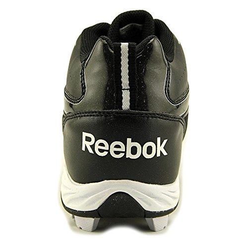 Reebok AUDIBLE III MRT Cuir Baskets Black-White