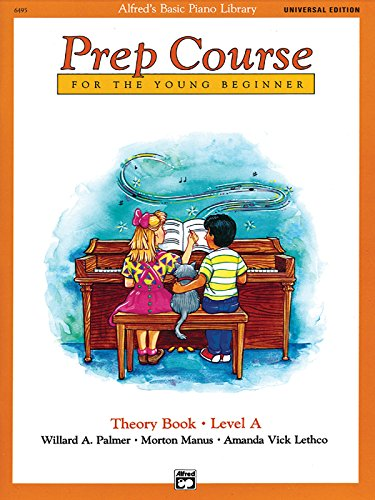 Alfred's Basic Piano Prep Course Theory Book Level A: Universal Edition (Alfred's Basic Piano Library)