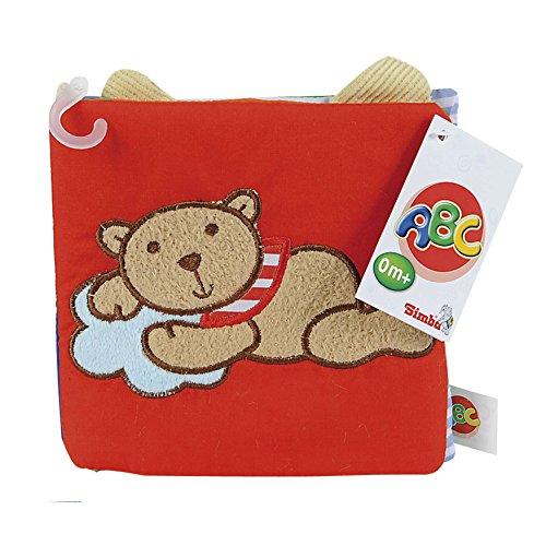 Simba 104019621 - ABC Stoff Buch (Simba Stoff)