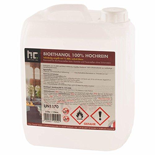 1 x 5 L Bio Ethanol Premium 100%