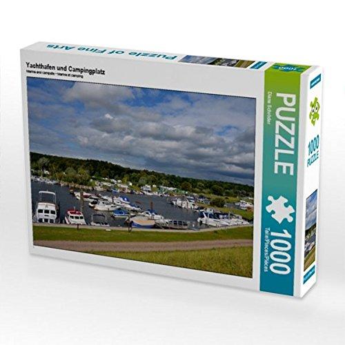 Preisvergleich Produktbild Yachthafen und Campingplatz 1000 Teile Puzzle quer (CALVENDO Orte)