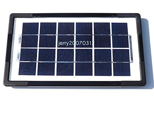 Zimo® 5V/6V Mini Solar Panel Ladegerät Solarmodul DIY Batterie Solarzelle zur Aufladung in verschiedenen Mustern zum Auswahl (6V/3W/500mA)
