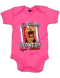 Body bebé qué somos Leones Aupa Athletic fútbol Bilbao 1d6455736bb30