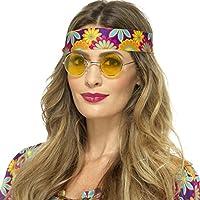 70er Jahre Brille Sugar Babe Sonnenbrille Hippie Party Hippiebrille Partybrille