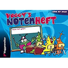 Voggy's Notenheft (Blanko-Notenheft)